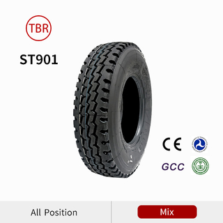 11R22.5 Zigzag Riblug mix pattern truck tire